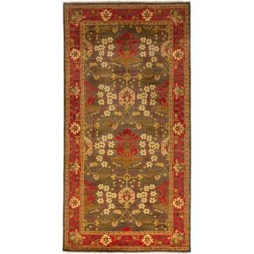 Solo Rugs One-of-a-kind Arts & Crafts Hand-knotted Area Rug 8' x 10'