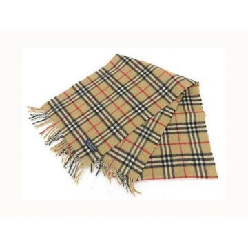 Burberry Beige Silk Scarves