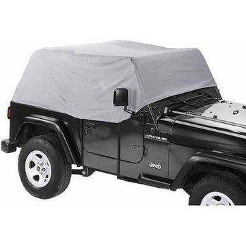 Bestop 41728-09 Canopy Cover Wrang, Charcoal