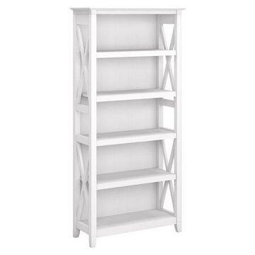 Bush Furniture Key West 5 Shelf Bookcase