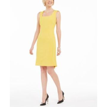 Kasper Flounce Sheath Dress