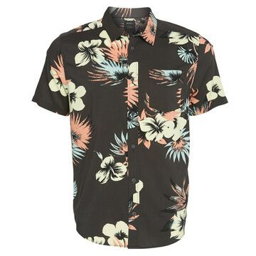 RVCA Men's Romeo Floral Shirt