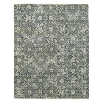 Capel - Siam 1881 - 5ft 6in x 8ft 6in Grey