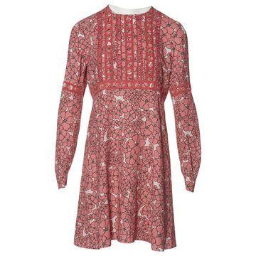 Giamba Pink Viscose Dresses