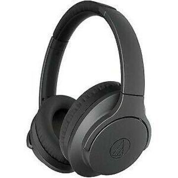 Audio-Technica QuietPoint Wireless Active Noise-Cancelling Headphones - Black