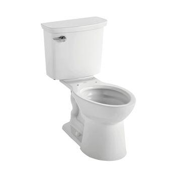 American Standard VorMax White Elongated Standard Height 2-Piece WaterSense Toilet 12-in Rough-In Size (ADA Compliant) | 238AA114.020