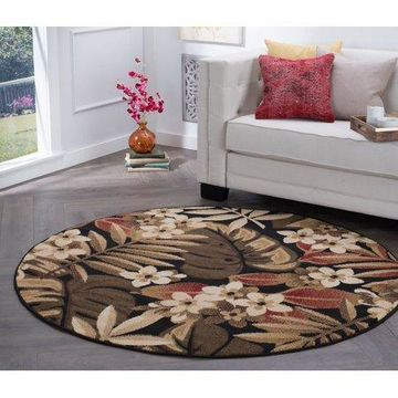 Bliss Rugs Carre Transitional Area Rug