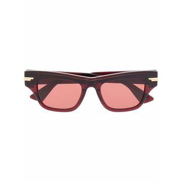 Bottega Veneta Sunglasses Red