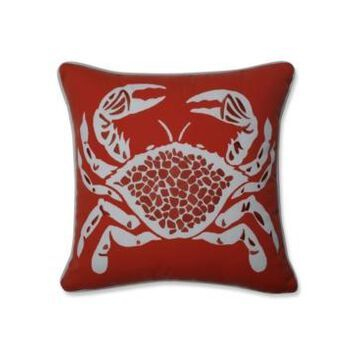 Pillow Perfect Calvin The Crab Throw Pillow