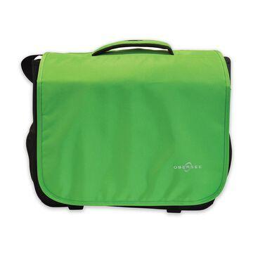 Obersee Madrid Convertible Diaper Bag in Green