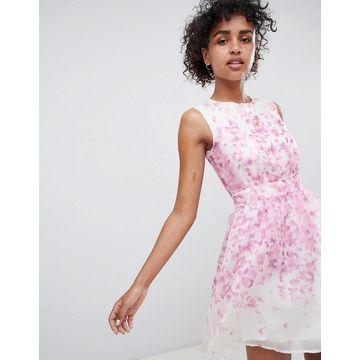 QED London Floral Skater Dress