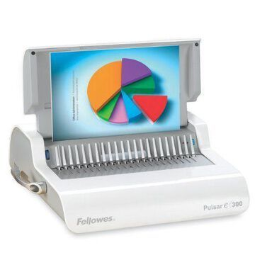 Fellowes Pulsar Comb Electric Binding Machine - Electrical - (fel5216701)