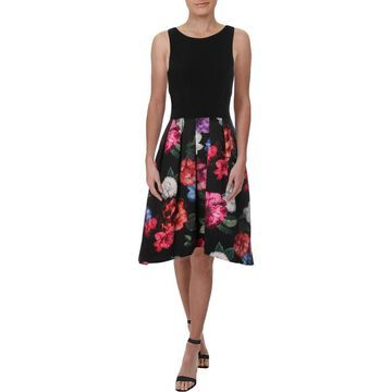 Xscape Womens Party Dress Sleeveless Floral