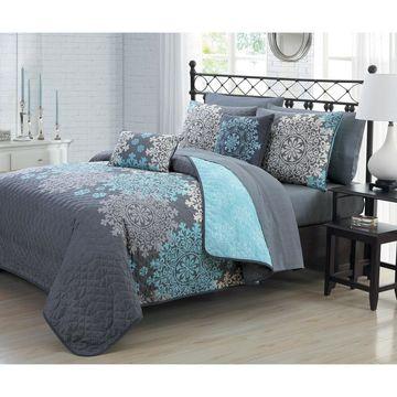 Avondale Manor Amber 9pc Quilt Set