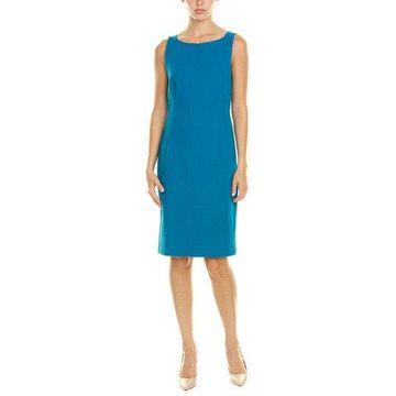 Akris Womens Wool Sheath Dress