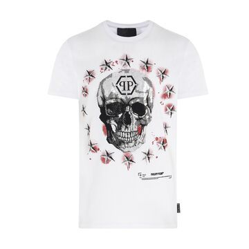 Philipp Plein stars & Skull T-shirt