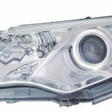 Headlight Depo - 12-14 Toyota Camry L/LE/XLE/Hybrid Headlamp Assembly LEFT HAND / DRIVER SIDE CAPA Certified
