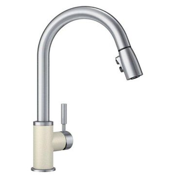 Blanco Sonoma 1.5 GPM Kitchen Faucet, Biscuit/Stainless