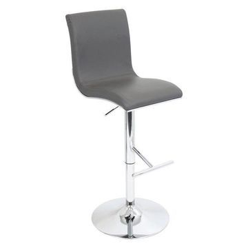 Lumisource Spago Barstool, Grey