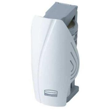 RUBBERMAID 1793547 Air Freshener Dispenser, T-Cell, Wht, Pk 12