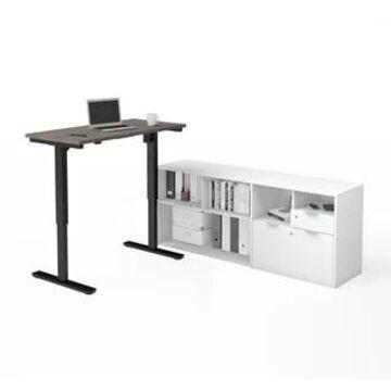 Bestar i3 Plus Height Adjustable L-Desk