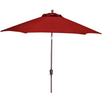 Hanover Traditions Red 9 Ft. Table Umbrella