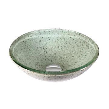 Legion Furniture Peppermint Glass Vessel Sink Bowl (ZA-241)
