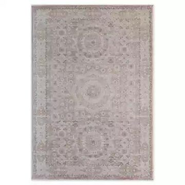 Rugs America Dogwood 5' x 7' Area Rug in Pink