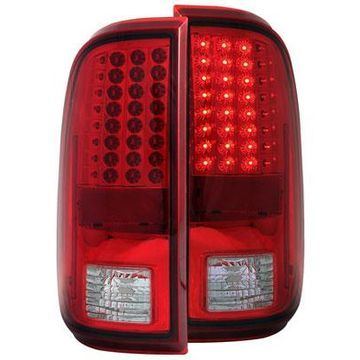 Anzo USA LED Tail Lights in Red/Clear, LED Tail Lights - 311050
