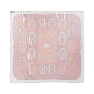 Hermes Bouclerie D'attelage, Silk-Blend Scarf (Authentic Pre-Owned)