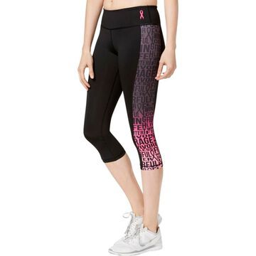Ideology Womens BCRF Printed Fitness Athletic Leggings