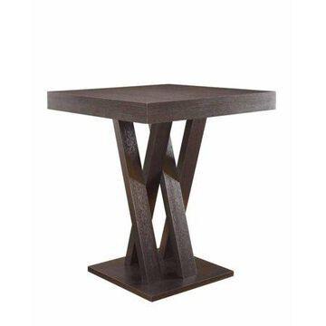 Coaster Company Mannes Contemporary Counter-Height Table, Cappuccino