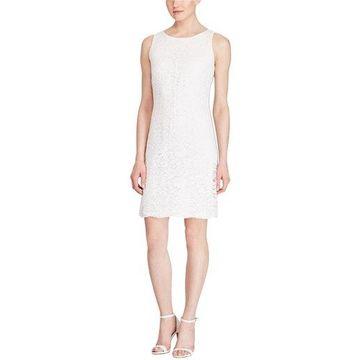 American Living Womens Jacquard A-line Dress