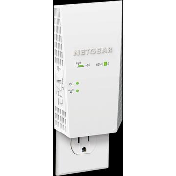 NETGEAR - Nighthawk EX7300 AC2200 WiFi Mesh Wall Plug Range Extender and Signal Booster