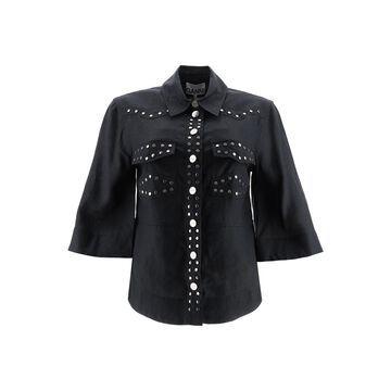 Ganni Studded Shirt