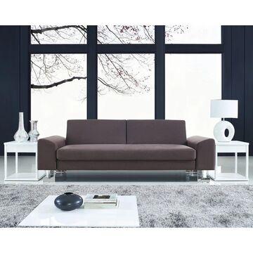 LumiSource Drake Modern Sofa Bed - N/A (Brown)