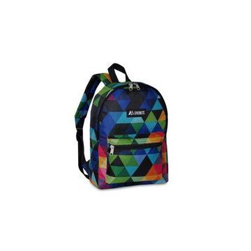 Everest Basic Pattern Backpack, Prism