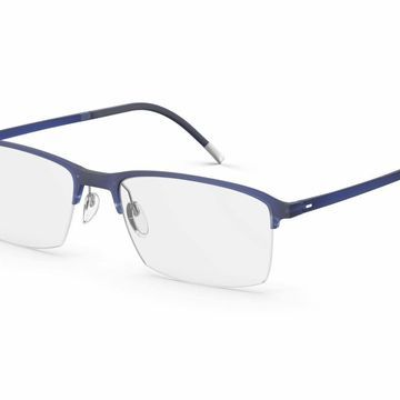 Silhouette 2914 SPX Illusion Nylor Eyeglasses in Blue