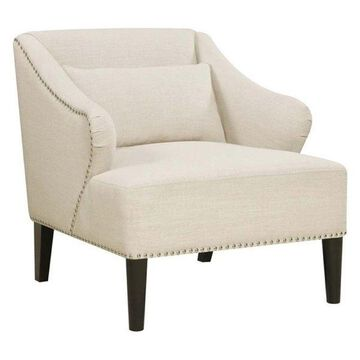 Pemberly Row Accent Chair in White