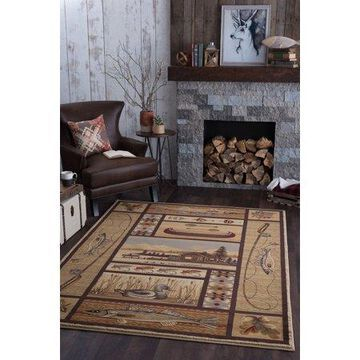 Bliss Rugs Lakeland Novelty Indoor Area Rug
