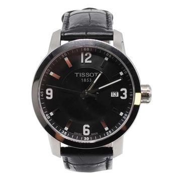 Tissot \N Black Steel Watches