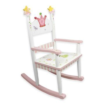 Teamson Fantasy Fields Princess and Frog Kids Rocking Chair
