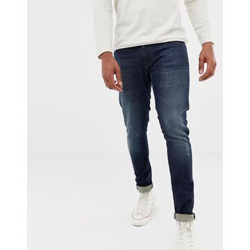 Nudie Jeans Co Tight Terry super skinny fit jeans in strong worn