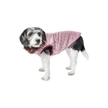 Pet Life Luxe 'Beautifur' Elegant Designer Boxed Mink Fur Dog Coat Jacket