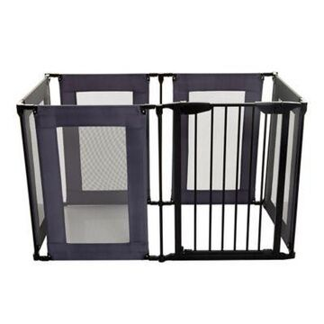 Dreambaby Brooklyn Converta Play Pen Gate in Black/Grey