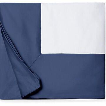 Casida Duvet Cover - SFERRA - Twin - Blue