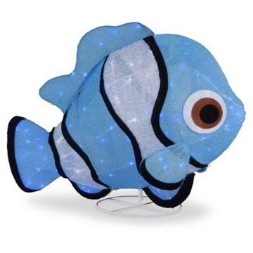 National Tree Company Clownfish LED Lighted Indoor/Outdoor Decor in Blue