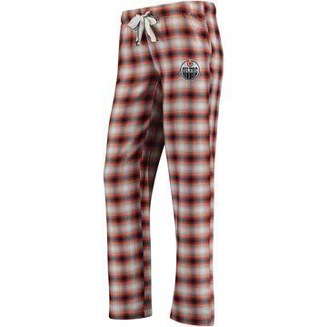 Women's Concepts Sport Navy/Orange Edmonton Oilers Forge Pajama Pants