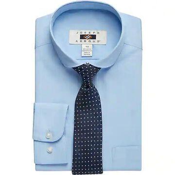 Joseph Abboud Boys Blue Dress Shirt & Tie Set - Size: Boys 8