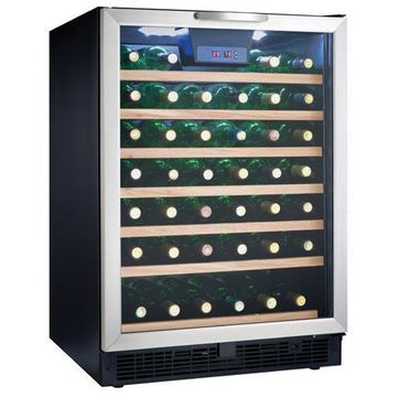 Danby Stainless Steel 50 Bottle Wine Cooler